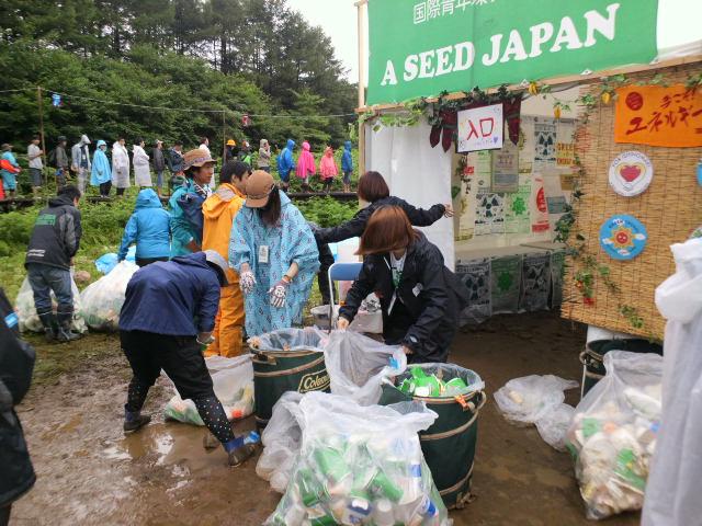 フジロックフェスティバル 2011 <br /> ごみゼロナビゲーションボランティア活動報告6